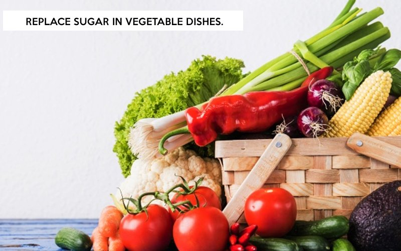 Replace Sugar in Vegetable Dishes
