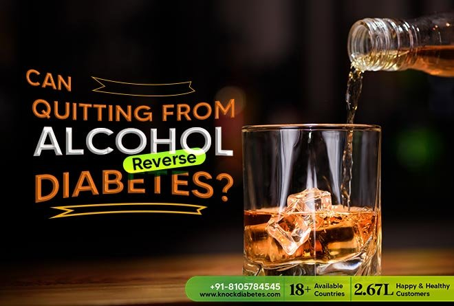 can quitting alcohol help in diabetes