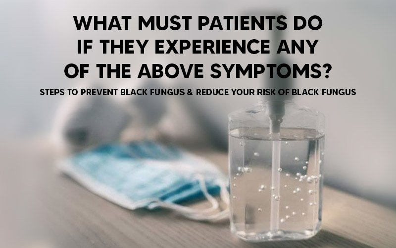 What must patients do if they experience.