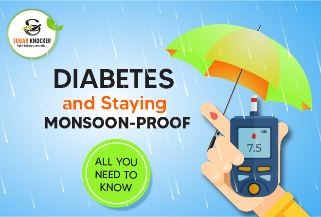 Diabetes and Staying Monsoon-Proof - All You Need to Know