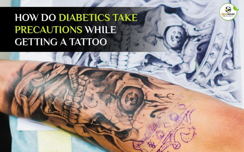 What precautions should diabetics take while getting a tattoo?