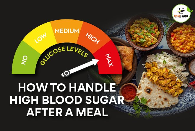 How to Manage High Blood Glucose After Meals